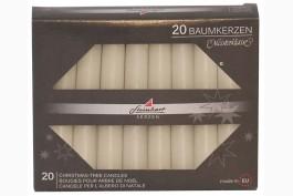 Julgransljus 20 st, vit