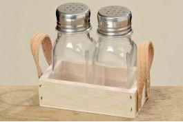 Set för salt och peppar, 3 delar/set