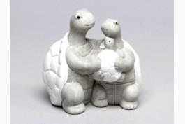 Sköldpaddor i terrakotta