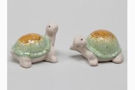 Sköldpadda i terrakotta, 2 st/set