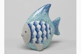 Fisk i terrakotta 13,5 cm