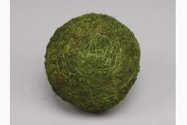 Dekorationsboll grön mossa Ø 15 cm