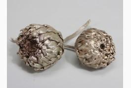 Torkad artichoke silver, 4 st/set
