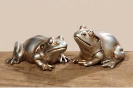 Groda silver, 2 st/set