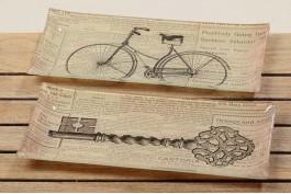 Fat cykel/nyckel, 2 st/set