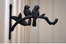 Konsollkrok fåglar