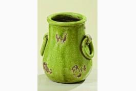 Kruka/vas i keramik, lime
