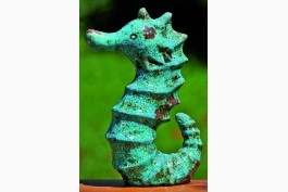 Sjöhäst i keramik