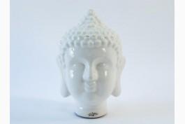 Buddhahuvud vitt