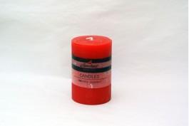 Blockljus rubin Ø6,8 h10