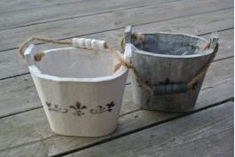 Trähink liten, grå (höger)