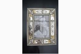 Fotoram med spegelglas