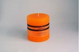 Blockljus apelsin Ø9,8 h10