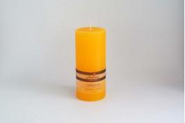Blockljus apelsin Ø6,8 h15