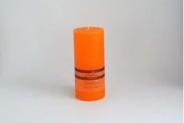 Blockljus orange Ø6,8 h15