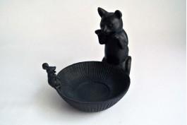 Tvålkopp katt och mus