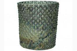 Ljuslykta antikbehandlat glas