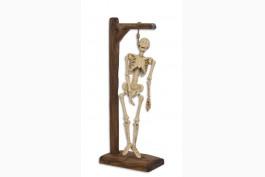 Skelett i galge, gjutjärn