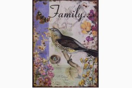 Plåttavla, Family