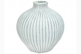 Keramikvas med dekor 18 cm